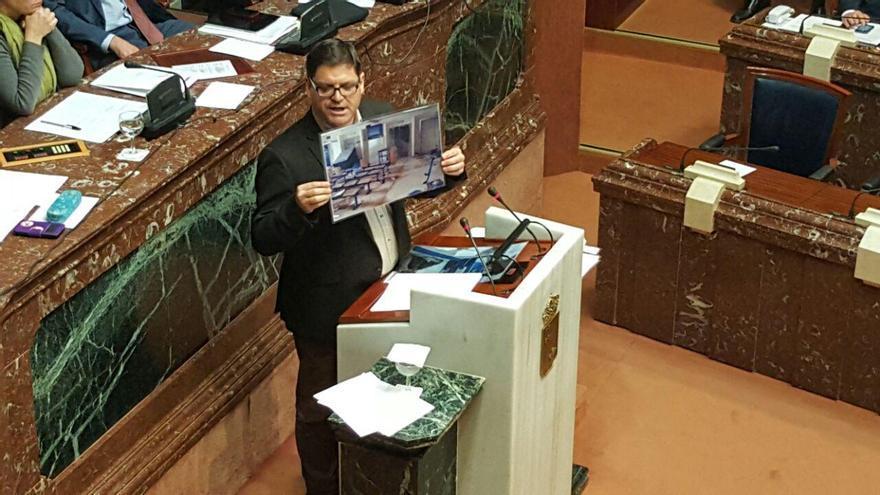 Andrés Pedreño, diputado Podemos, Asamblea Regional de Murcia.