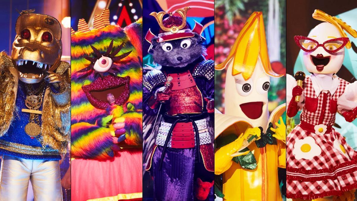Las máscaras semifinalistas de 'Mask Singer 2'