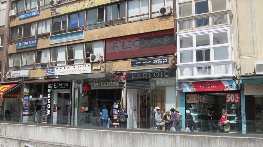 Cantabria fue la tercera comunidad en que más cayó la cifra de negocios del comercio en 2013