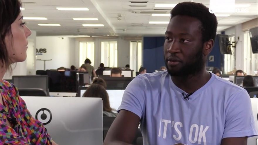 Moha Gerehou, presidente de SOS Racismo Madrid