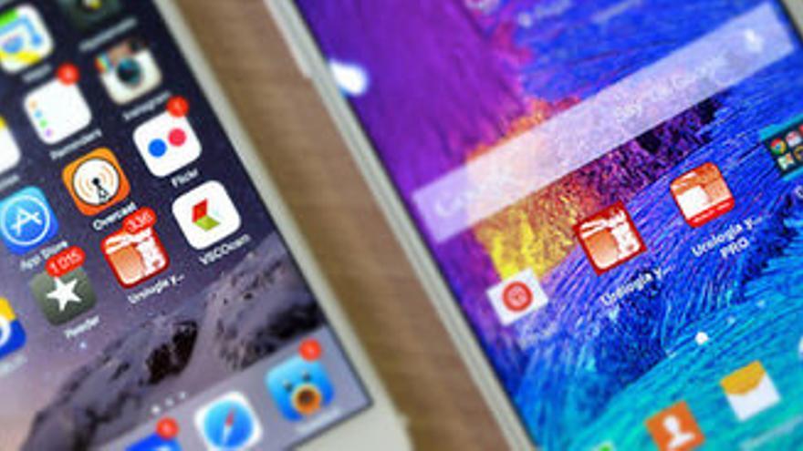 Teléfonos y apps