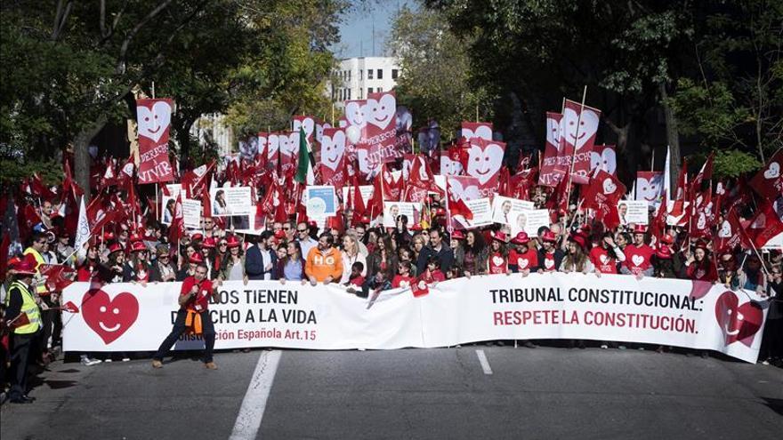 """La """"Marcha por la vida"""" pide que el 20-D se vote """"sin traicionar"""" a los niños"""