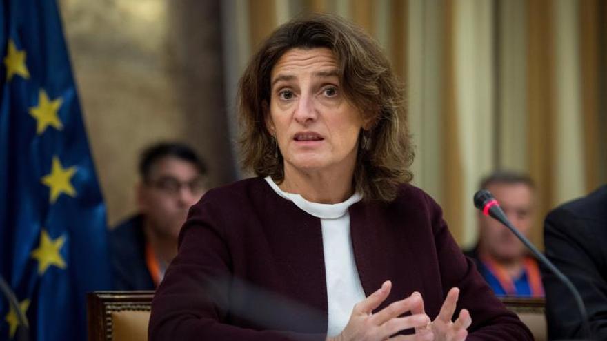 Teresa Ribera en la Cumbre del Clima de Polonia