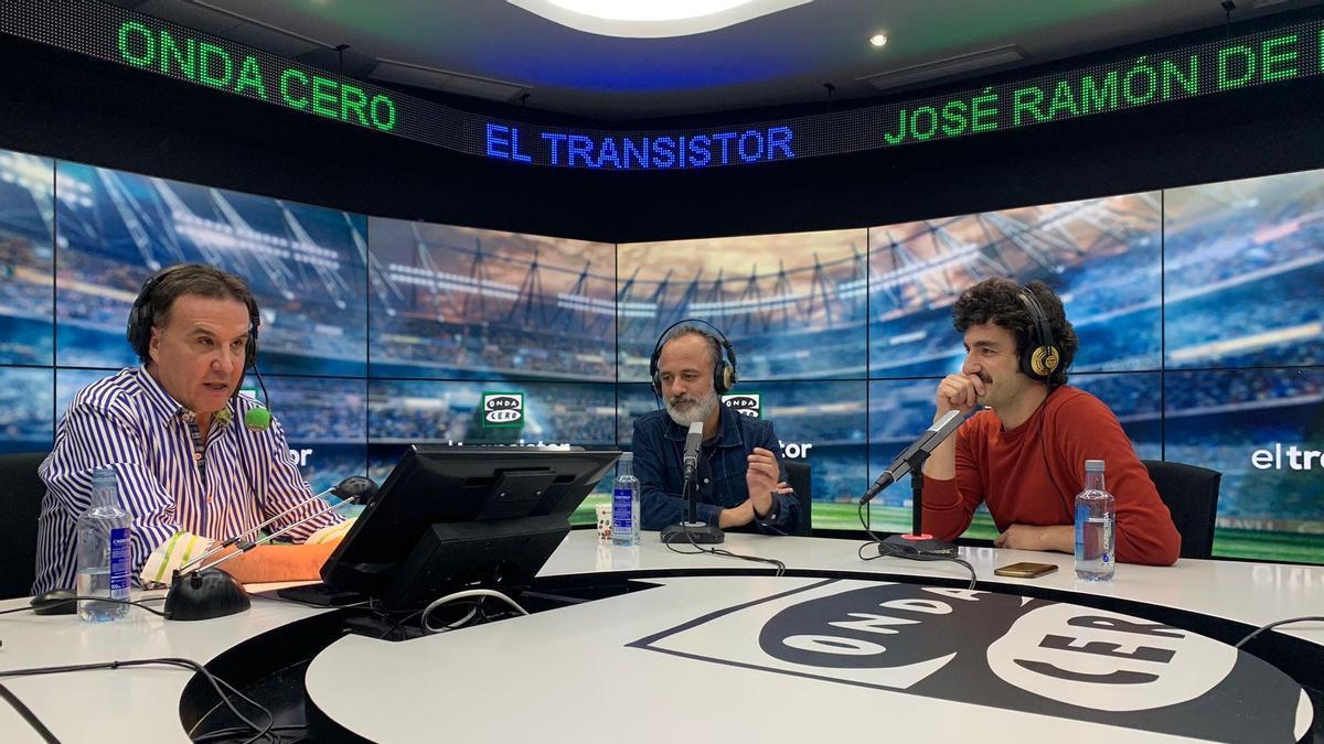 José Ramón de la Morena, Javier Gutiérrez y Miki Esparbé