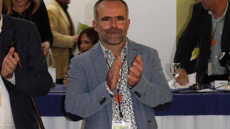 Carles Peris tras ser elegido nuevo secretario general de La Unió de Llauradors i Ramaders
