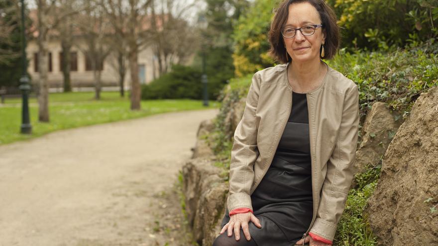 Mercedes Boix, candidata de Izquierda Unida a la Presidencia de Cantabria.