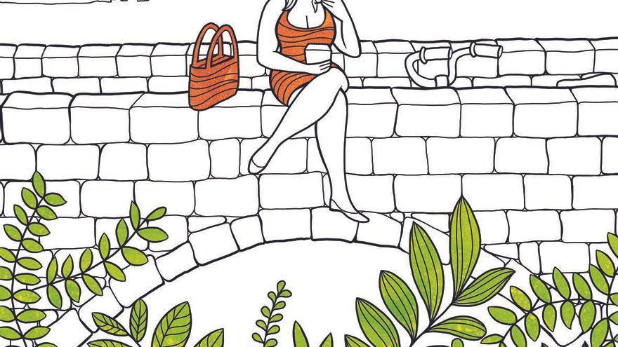Ilustración del reportaje 'No vayas sola, te puede pasar algo', del número 2 de Cuadernos de eldiario.es. / Emma Gascó