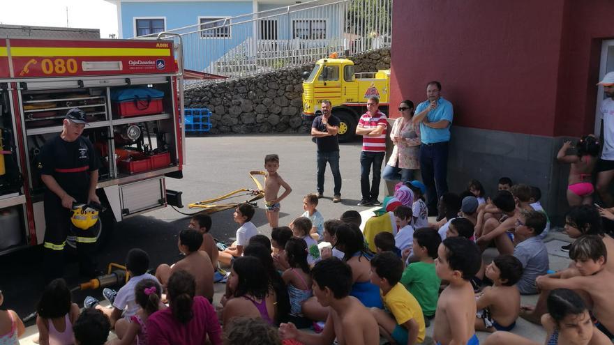 La actividad se desarrolló en el campus de fútbol de San José.