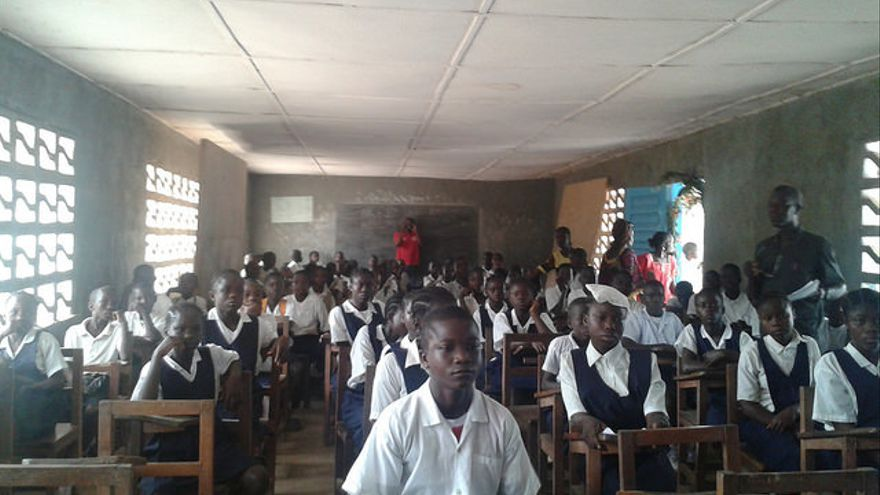 Escuela pública Fiaplay en Nimba County (Liberia)