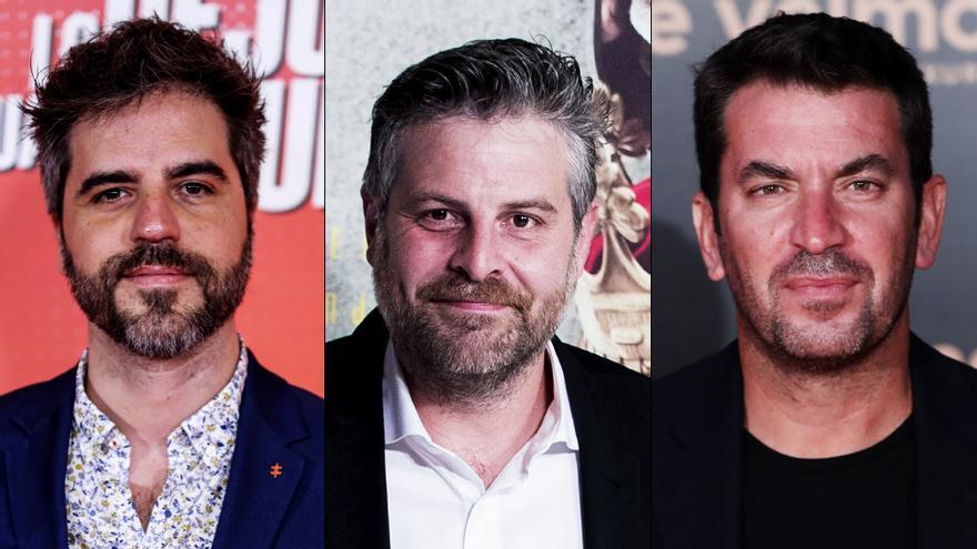 Ernesto Sevilla, Raúl Cimas y Arturo Valls