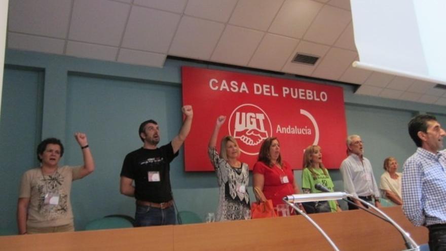 """UGT-A renueva su Ejecutiva con un 63% de apoyos, da """"carpetazo"""" a la antigua etapa y rechaza relación con causa judicial"""