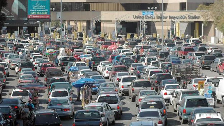 La frontera del Tijuana es la más transitada del mundo.