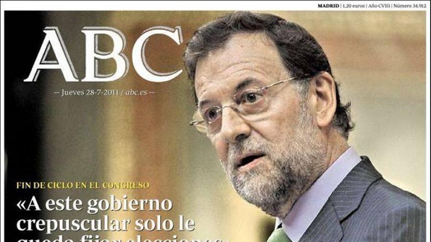 De las portadas del día (28/07/2011) #6