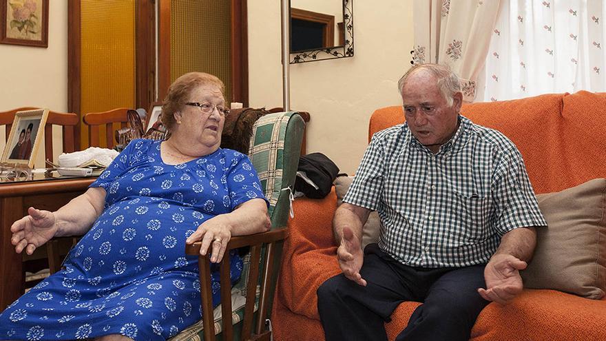 Vicenta Soler y Miguel Ferrer.