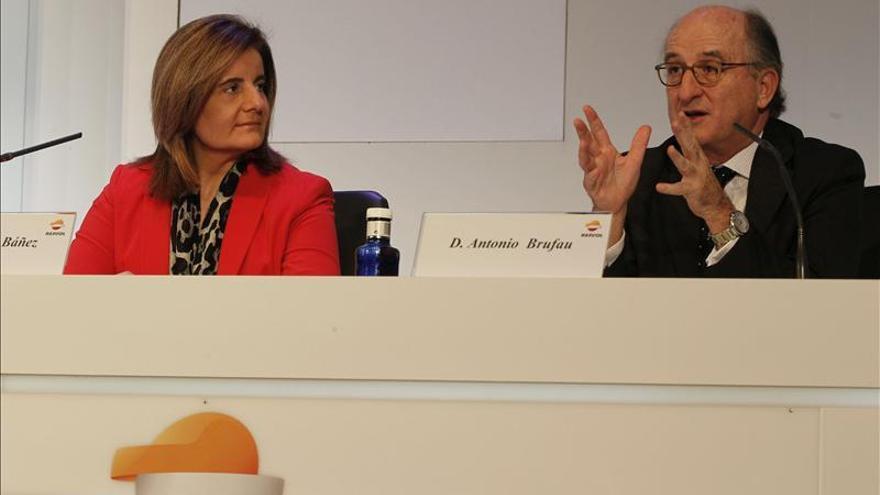 Báñez y Repsol valoran el teletrabajo como el mejor modelo para la conciliación