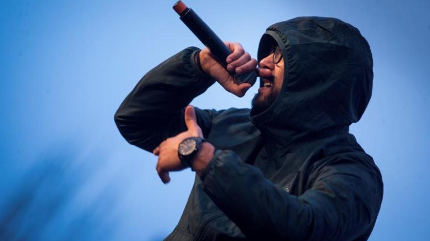 La Audiencia Nacional da 10 días al rapero Valtonyc para entrar en prisión