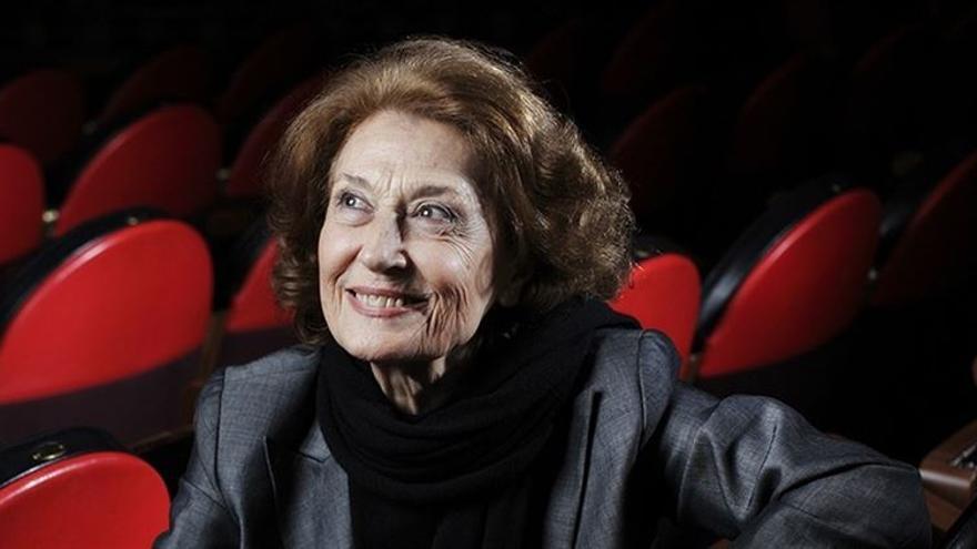 La actriz Julia Gutiérrez Caba