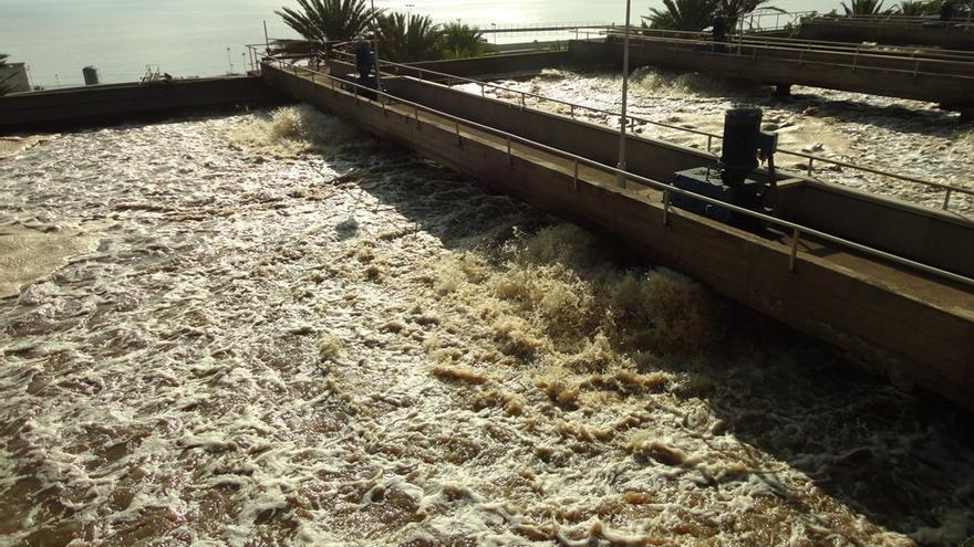 Aguas residuales en Tenerife
