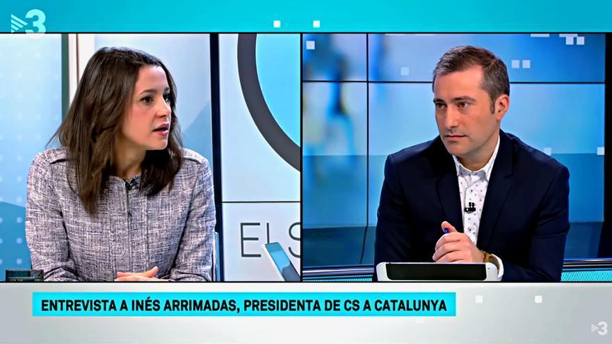 """""""Els Matins"""" - Inés Arrimadas y Pere Bosch"""
