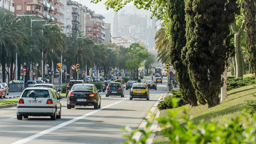 Barcelona es la ciudad española con mayor congestión de tráfico