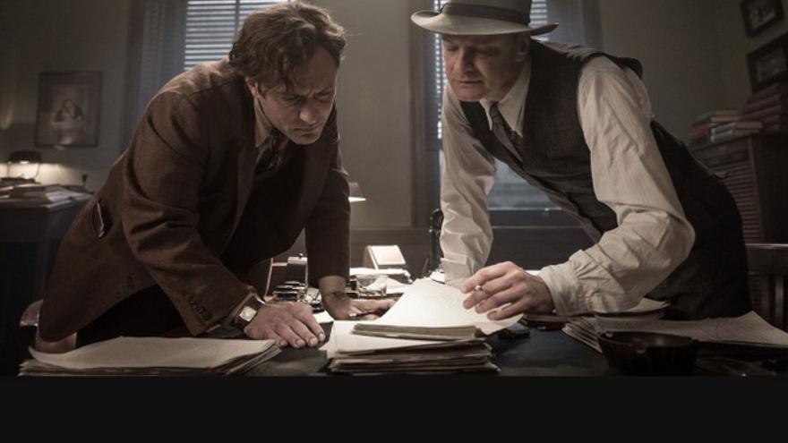 Fotograma del filme 'El editor de libros'