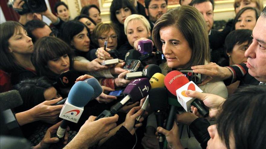 Báñez no ve peligroso que el 97 por ciento del Fondo de Reserva de la SS esté en deuda española