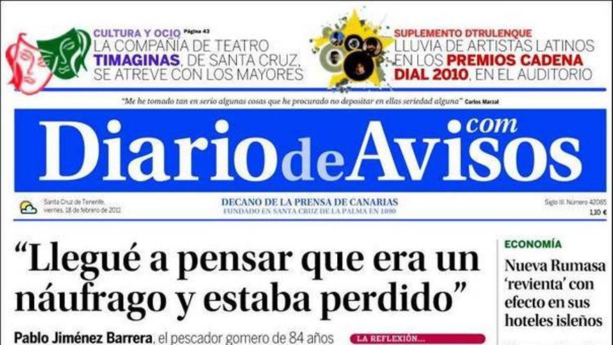 De las portadas del día (18/02/2011) #2