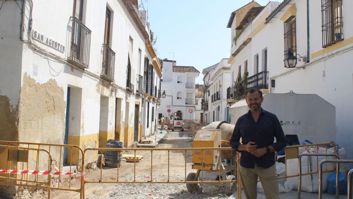 David Dorado, en la calle San Agustín