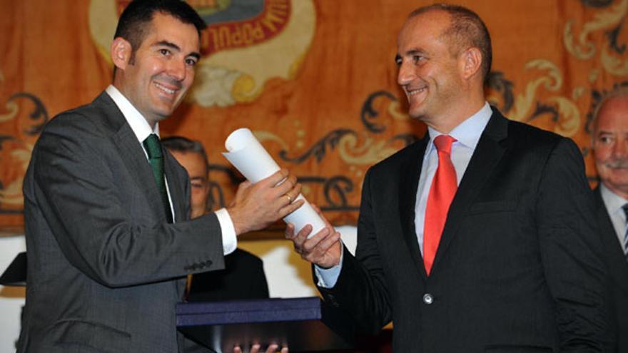 De la entrega del Premio Nacional de Comercio Interior a La Laguna #4