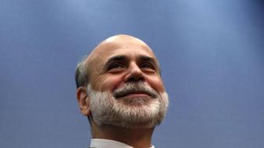 El presidente de la Reserva Federal estadounidense (Fed), Ben Bernanke