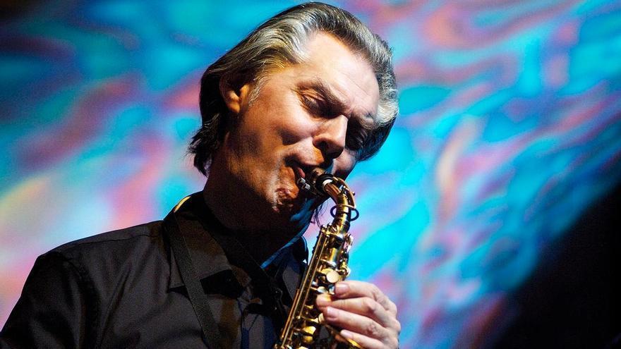 El saxofonista noruego Jan Garbarek