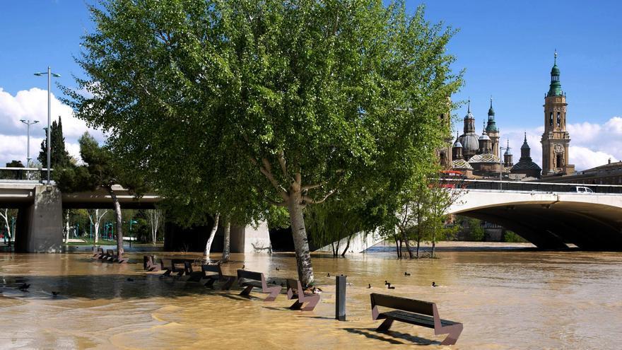 Desbordamiento del Ebro en Zaragoza