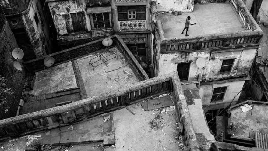 Fotografía que se exhibirá en la La Vidriera, del bilbaíno ganador de tres premios Goya, Tony Limeres.
