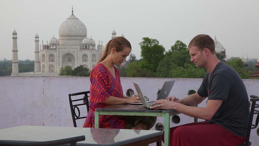 Lo tuyo es ir de un lado a otro, también para trabajar. ¿Habías pensado alguna vez en hacerlo con vistas al Taj Mahal?