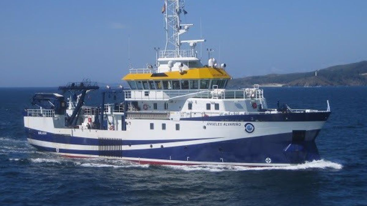 El buque oceanográfico que busca a Anna y Olivia en aguas de Tenerife