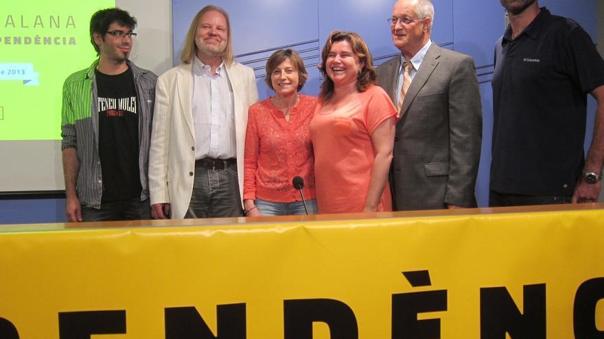 Los independentistas catalanes preparan una cadena humana de 400 kilómetros para el 11 de septiembre