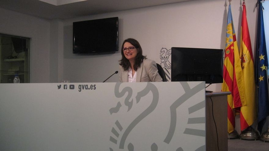 Mònica Oltra rechaza el nombramiento del marido de una consejera valenciana como gerente de una empresa pública