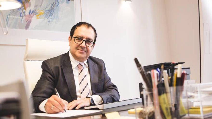 Carlos Fornes, abogado y presidente del I Congreso de Derecho Sanitario de la Comunidad Valenciana