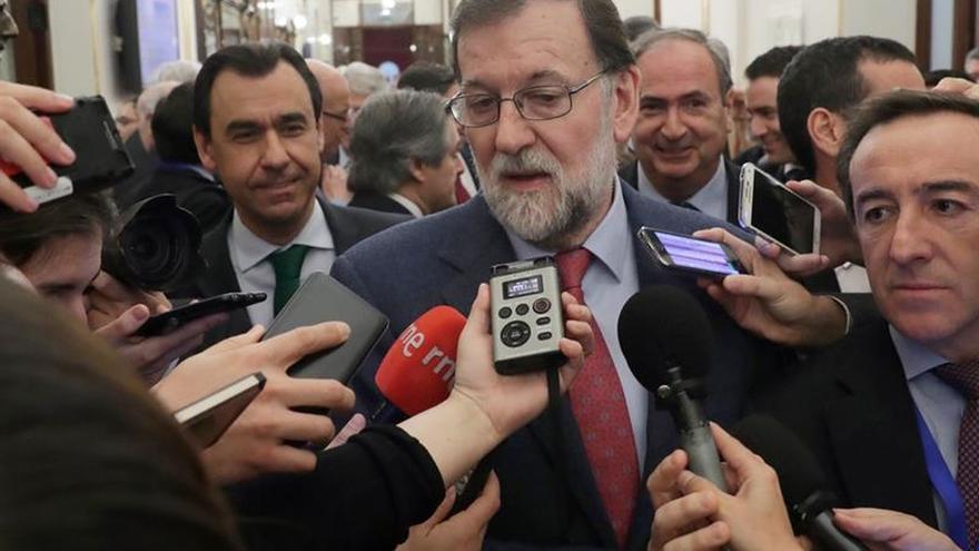 Rajoy asegura que rechazar las enmiendas a los presupuestos es bueno para España