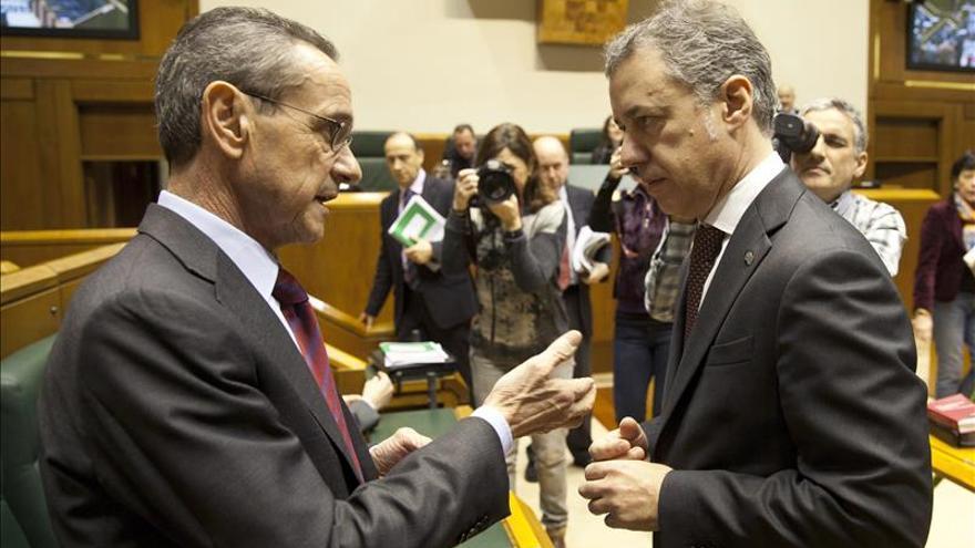 Urkullu subraya que pondrá todo su empeño en lograr un pacto de autogobierno con Rajoy