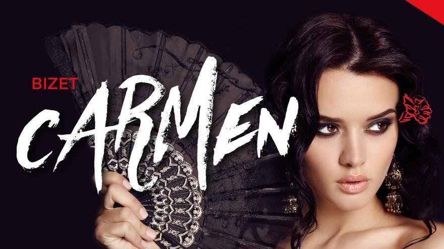 Cartel de la ópera Carmen