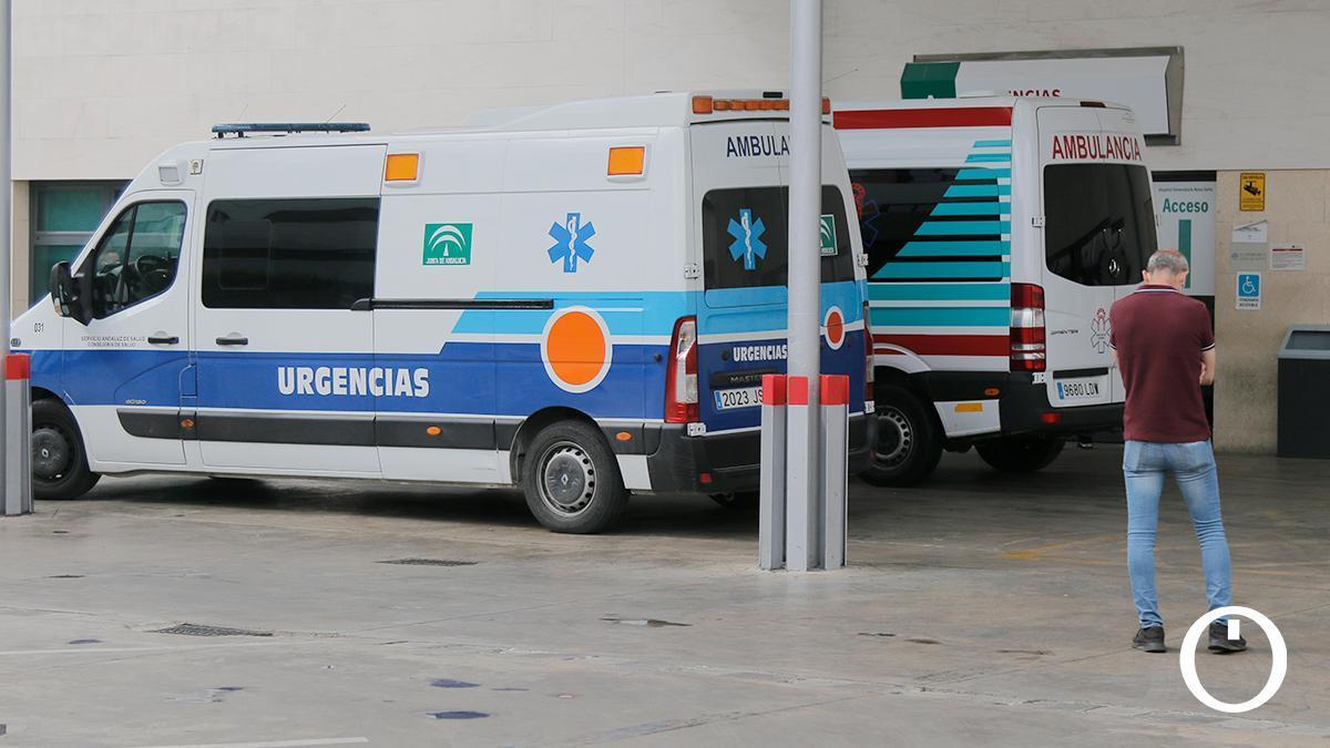 Zona de urgencias del Reina Sofía de Córdoba.