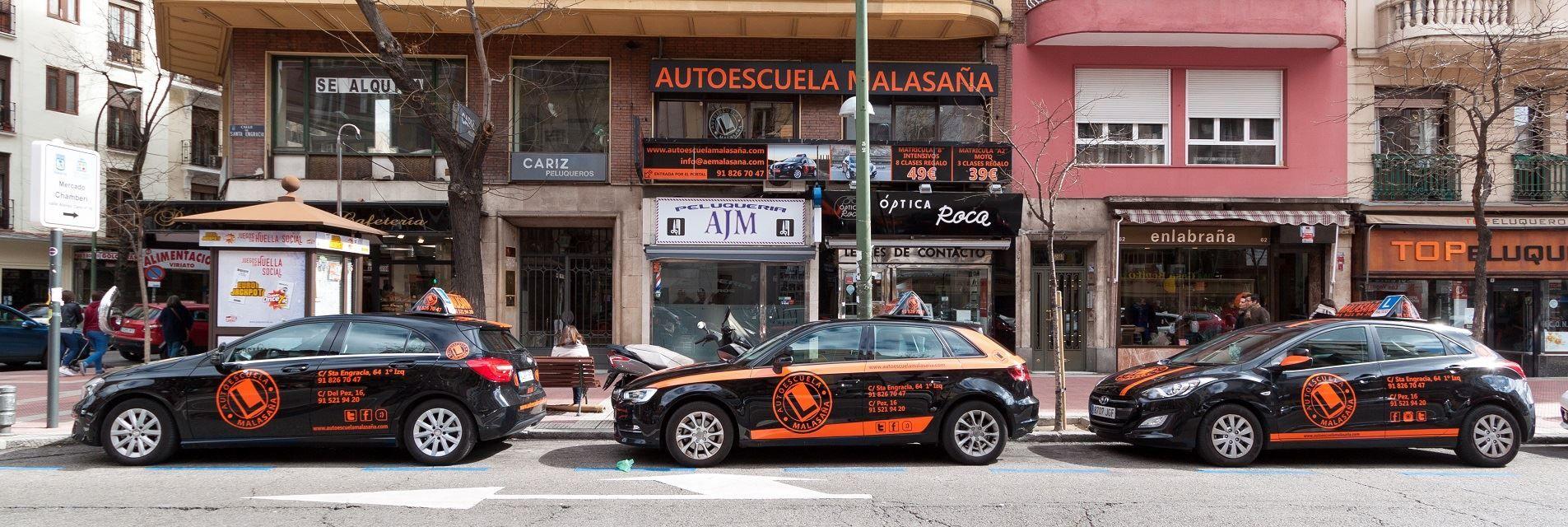 Autoescuela Chamberi coches