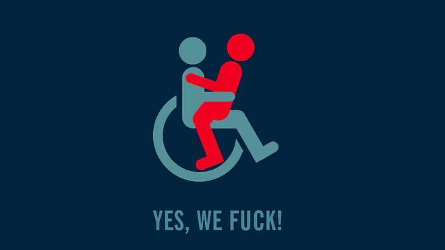 "Cartel del documental ""Yes, we fuck"""