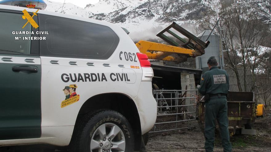 Los hechos han ocurrido en una granja de la comarca del Alto Gállego.