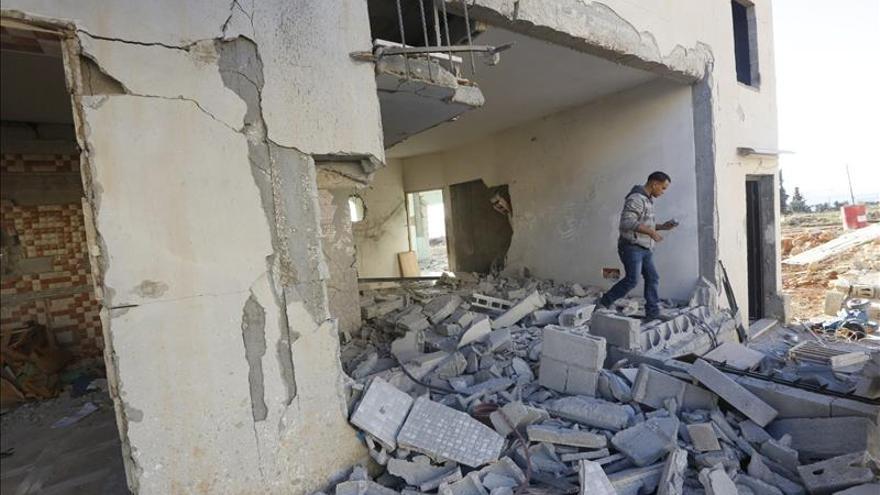 Israel destruye casas de cuatro palestinos acusados de ataques en Cisjordania