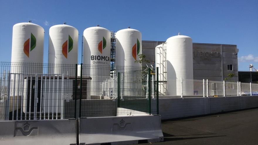 Planta de producción de cloro de Santa Cruz de Tenerife