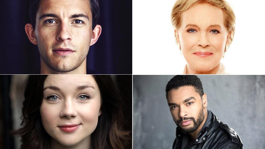Shonda Rhimes y Netflix anuncian el reparto de 'Bridgerton', su primera serie en conjunto