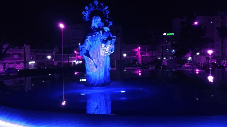 Edificios y monumentos andaluces se iluminan este domingo de azul para concienciar sobre el autismo