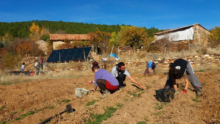 El colectivo de Fraguas recurre al Constitucional su condena a prisión por reconstruir un pueblo en Guadalajara
